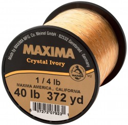 Maxima Crystal Ivory Guide Spool